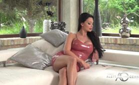 Aletta Ocean Porner - Busty Brunette Hard Rubbing