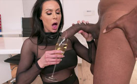 Sensational MILF Kendra Lust  BBC Hang Out