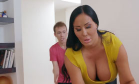 Absolutely Unhinged Fucking Teasing Curvy Step Mom