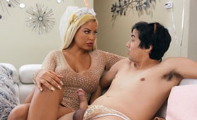 Bombastic MILF Teaches Young Stripper A Many...