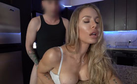 My Perv Stepmom Gives Me Her Pussy To Fucking for B-day