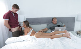 Hot Stepmom Have Satisfies Endowed Stepson