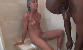 Horny Fit Granny Stretching Out By BBC