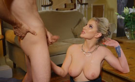 Busty Naughty Stepmom is Everything That Young Guy Need