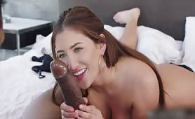 Hot Nurse Can't Resist That BBC on a House Call